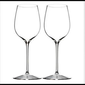 NIB Waterford Elegance Pinot Noir Wine Glass Pair